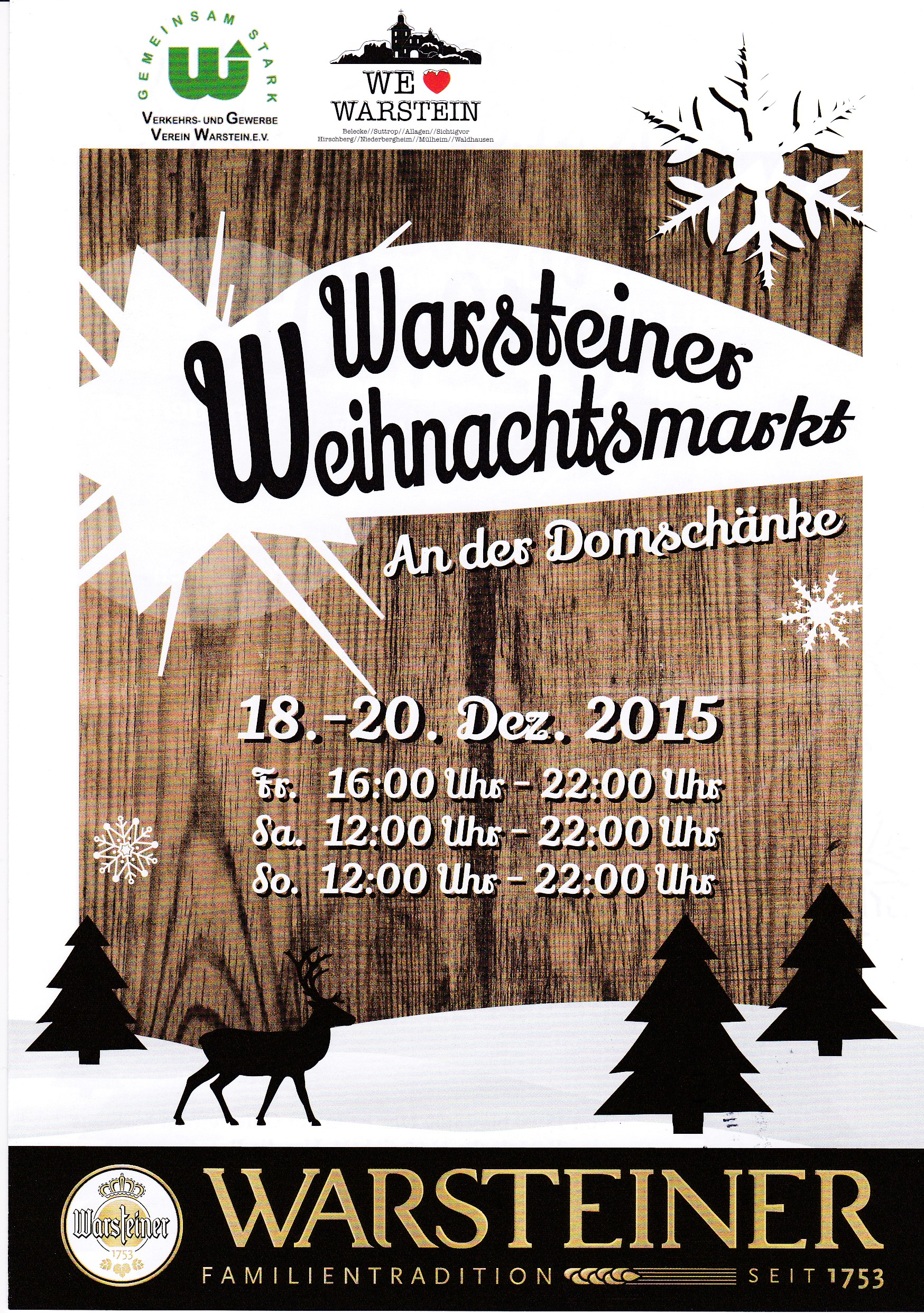 Warsteiner Weihnachtsmarkt 2015